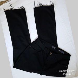 J. Jill Denim Black Kick Flare Ankle Jeans